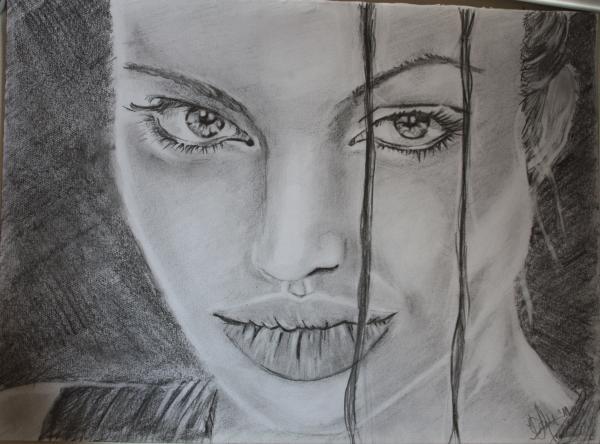 Angelina Jolie par dyonne